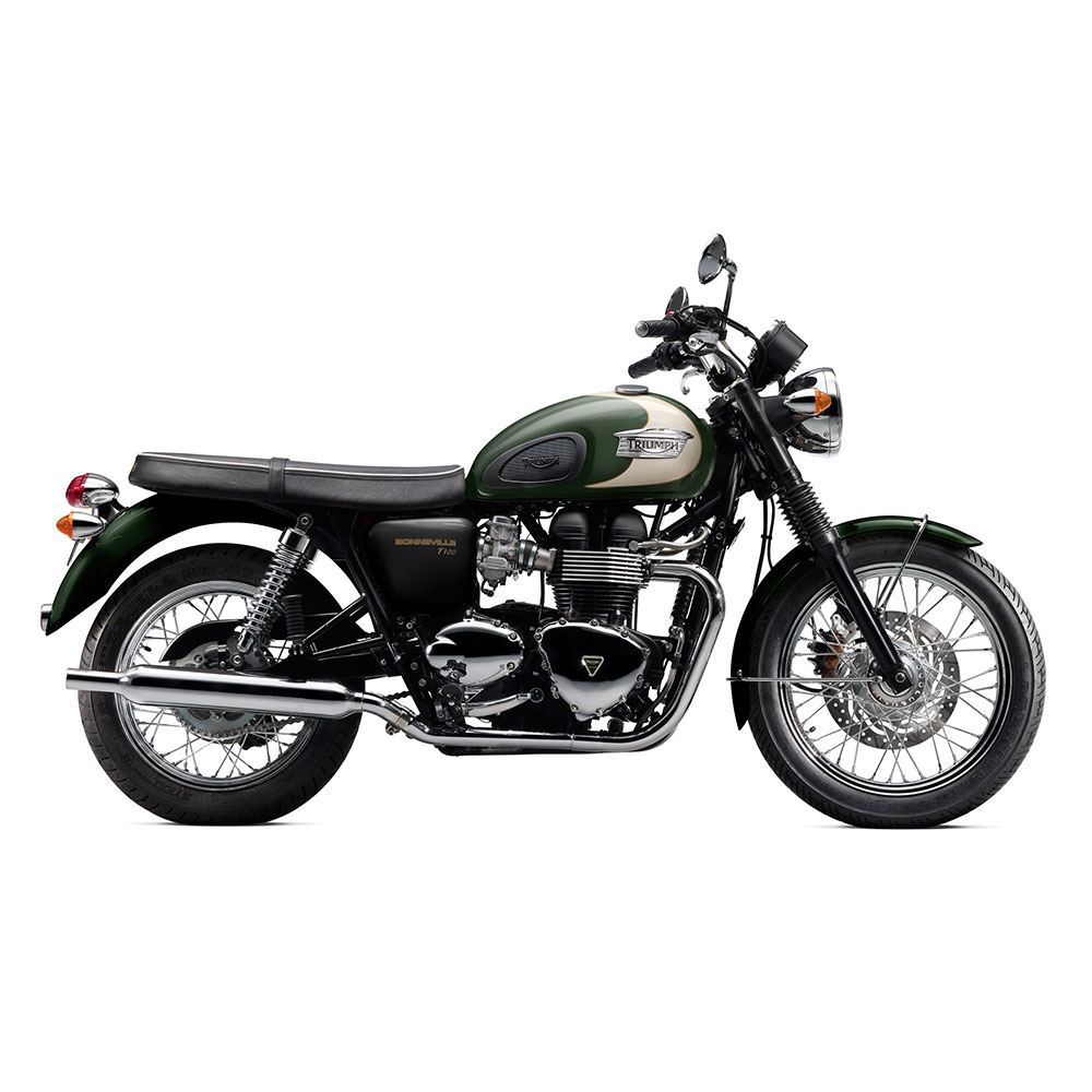 Bonneville & T100 with spoke wheels 2000-2015