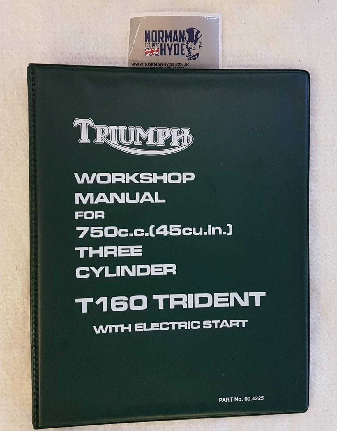 WORKSHOP MANUAL T160