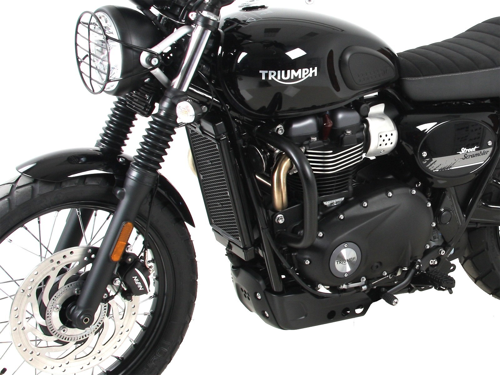 STREET SCRAMBLER BLACK ENGINE PROTECTION BARS