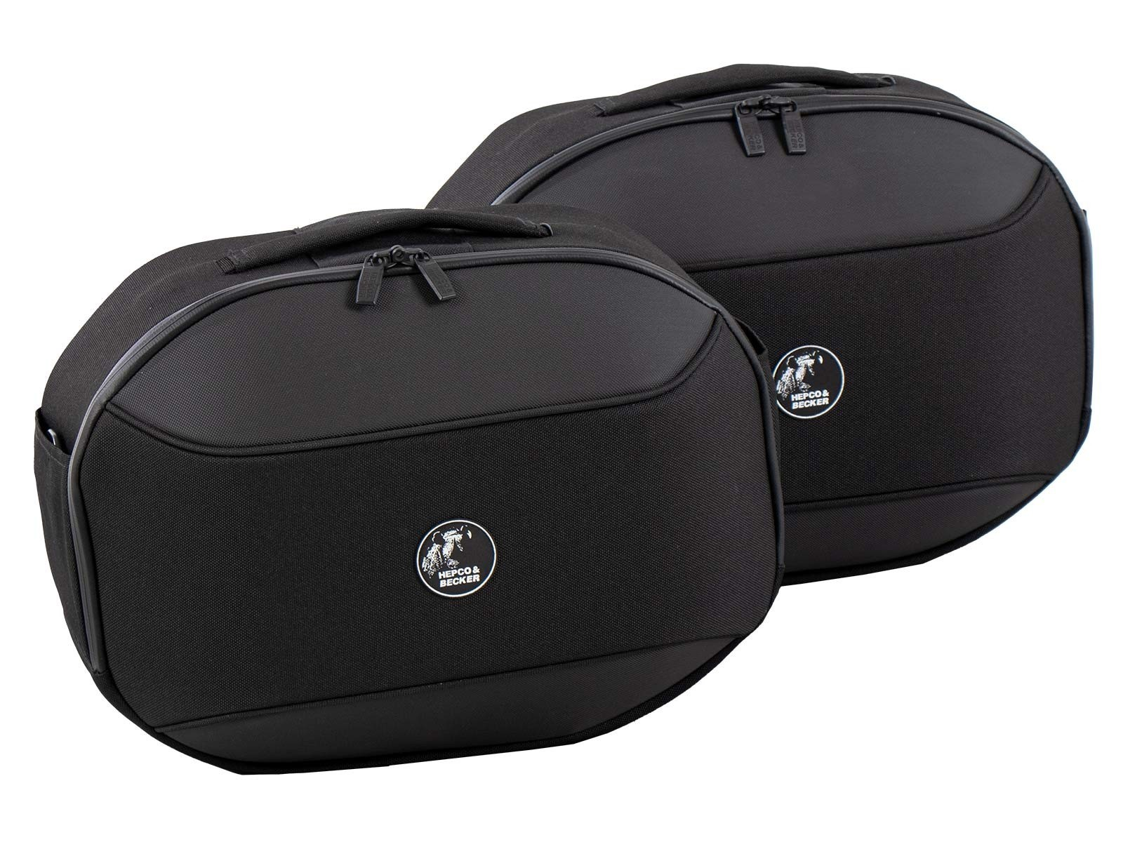 Triumph Tiger 800 Panniers Hepco & Becker Street Softbag Luggage with full fitting kit