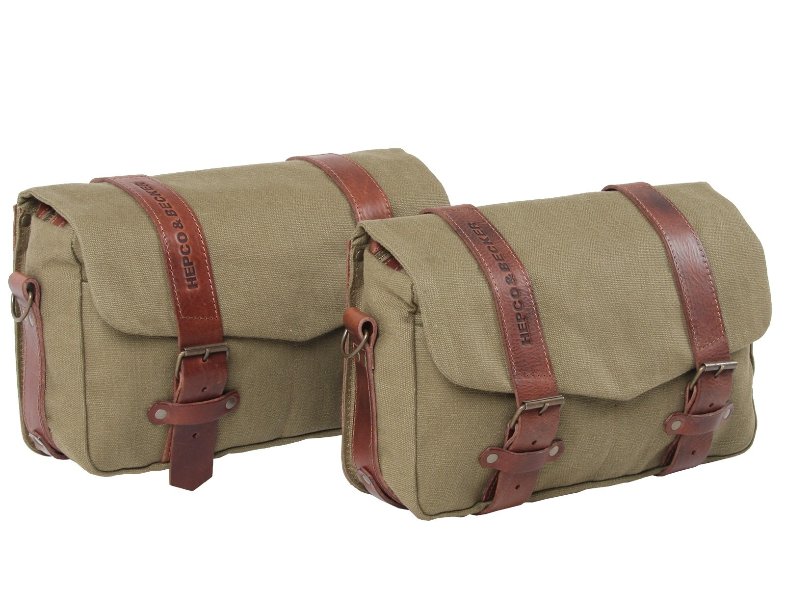 Hepco & Becker Legacy Courier Bag Set (Medium Pair) for C-Bow Carrier - Green