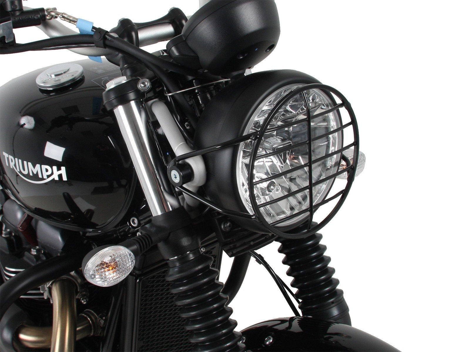 STREET TWIN STREET SCRAMBLER BLACK METAL HEADLIGHT GRILL
