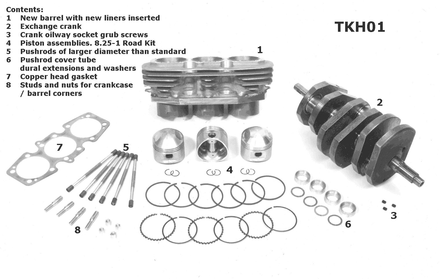 triumph tiger engine diagram