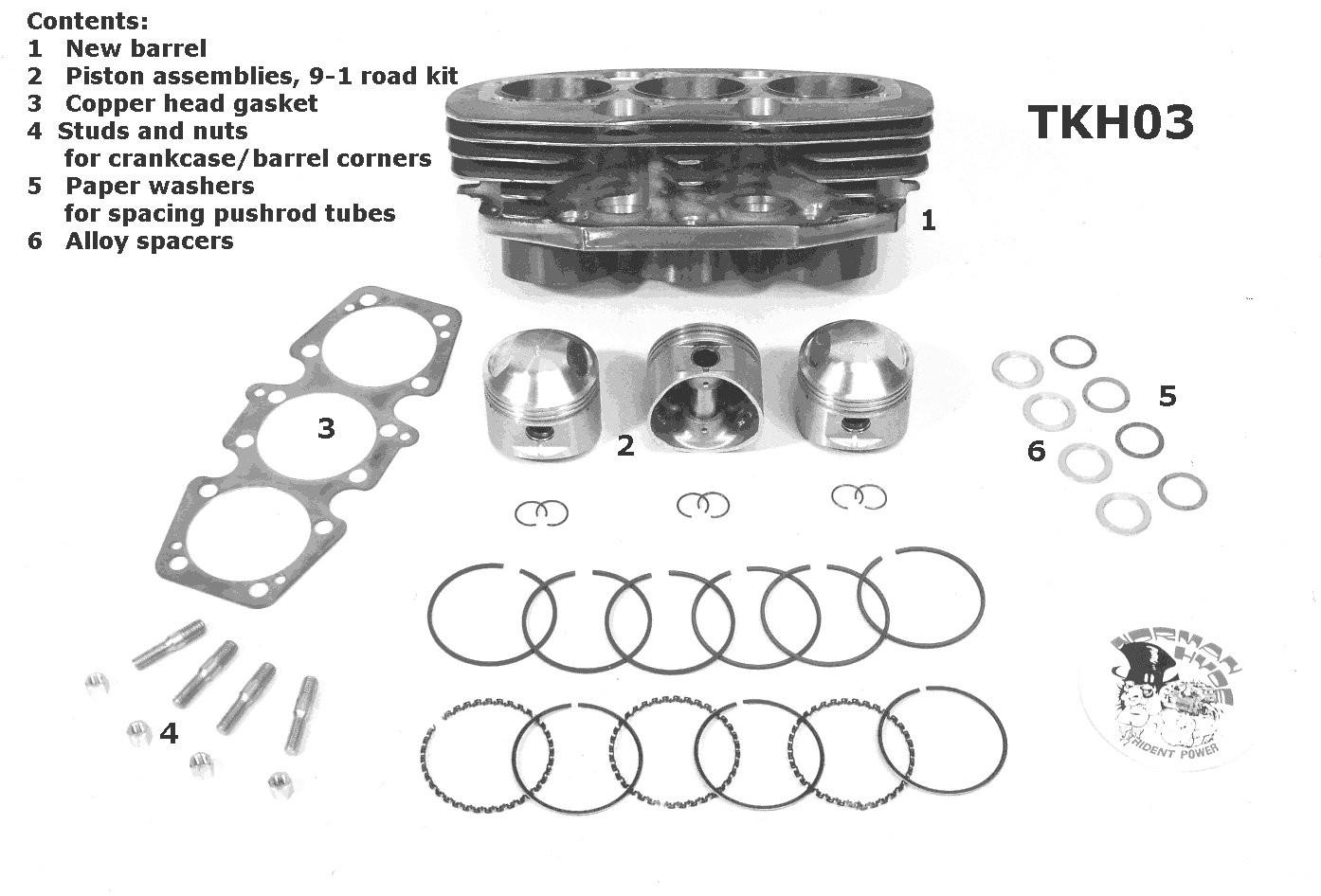 big bore 850cc kit (road) - triumph t160 - meriden triumph & bsa