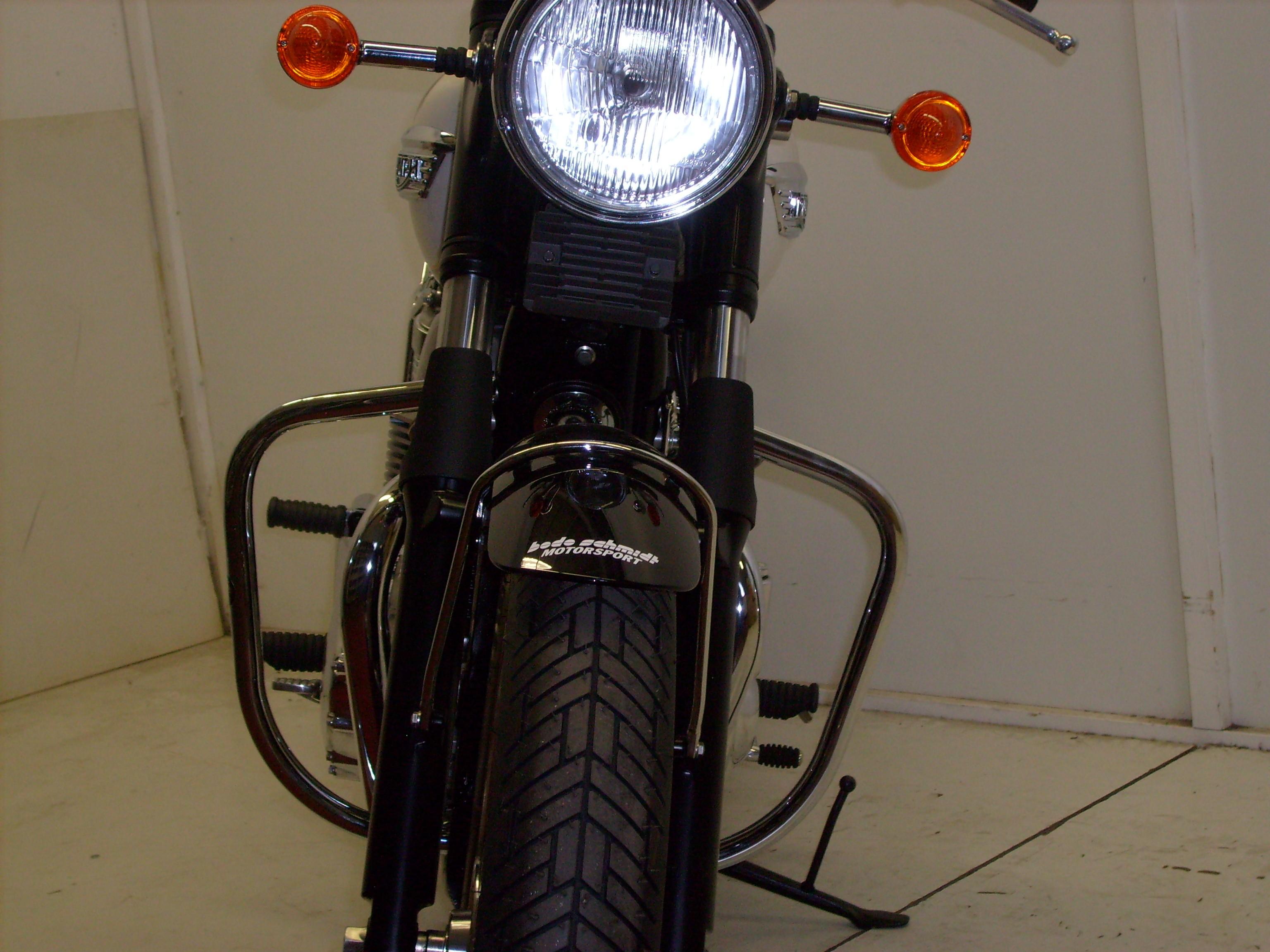 Hepco & Becker Triumph Bonneville T100 Engine Protection Guard - Chrome