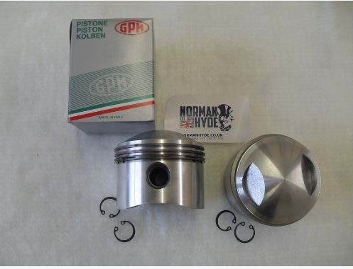PISTON SET [2] T120 9:1 STD