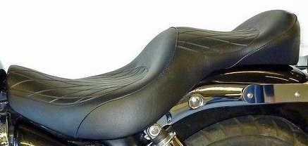 KING & QUEEN 2 GEL SEAT FOR America and Speedmaster to 2016.