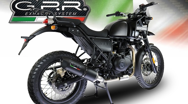 ROYAL ENFIELD HIMALAYAN 410 GPR FURORE NERO SLIP-ON SILENCER