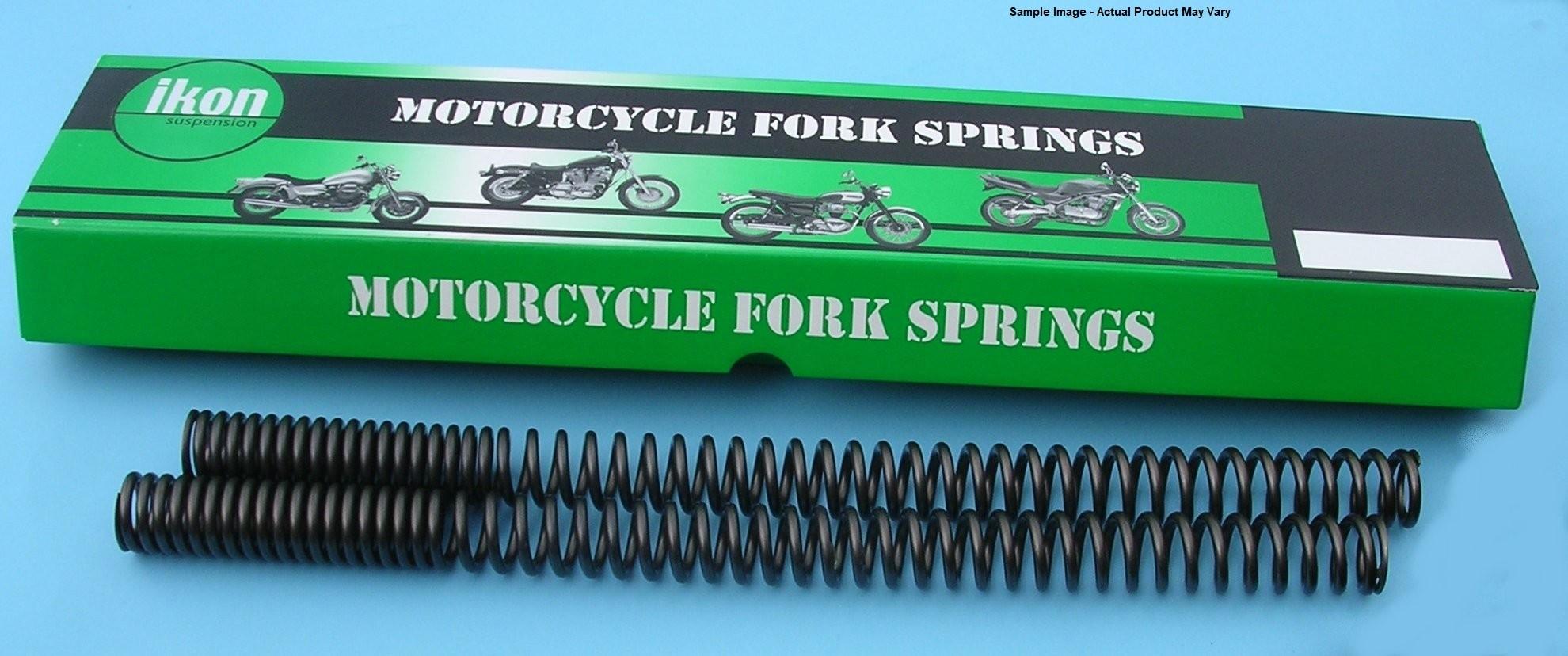 Ikon Progressive Fork Springs for Bonneville T100 from 2016