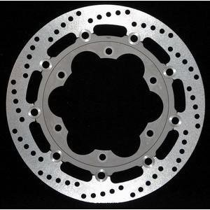 Fully floating UK made stainless steel rotor with lightweight alloy centre