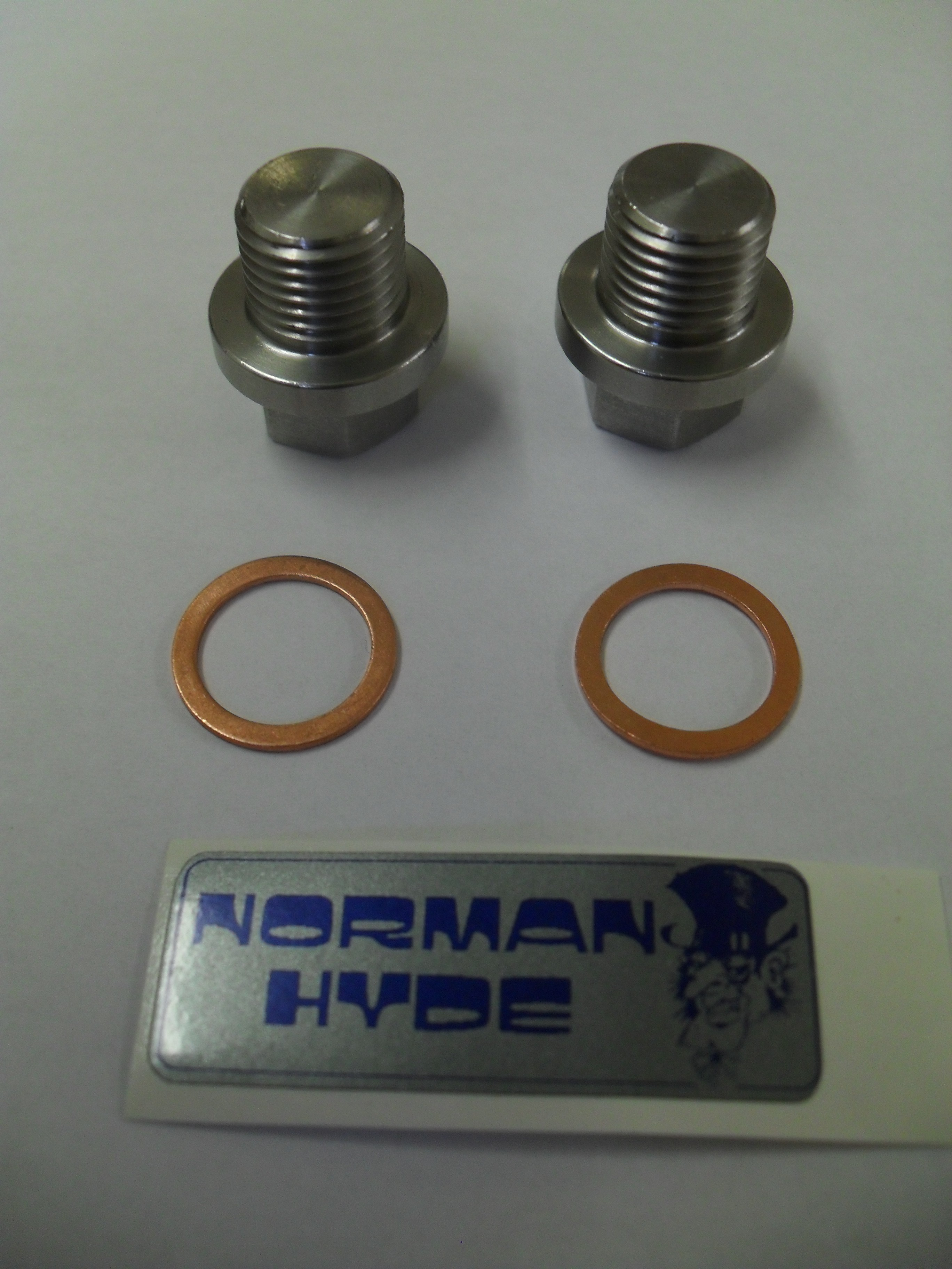 Blanking plugs & Copper washers