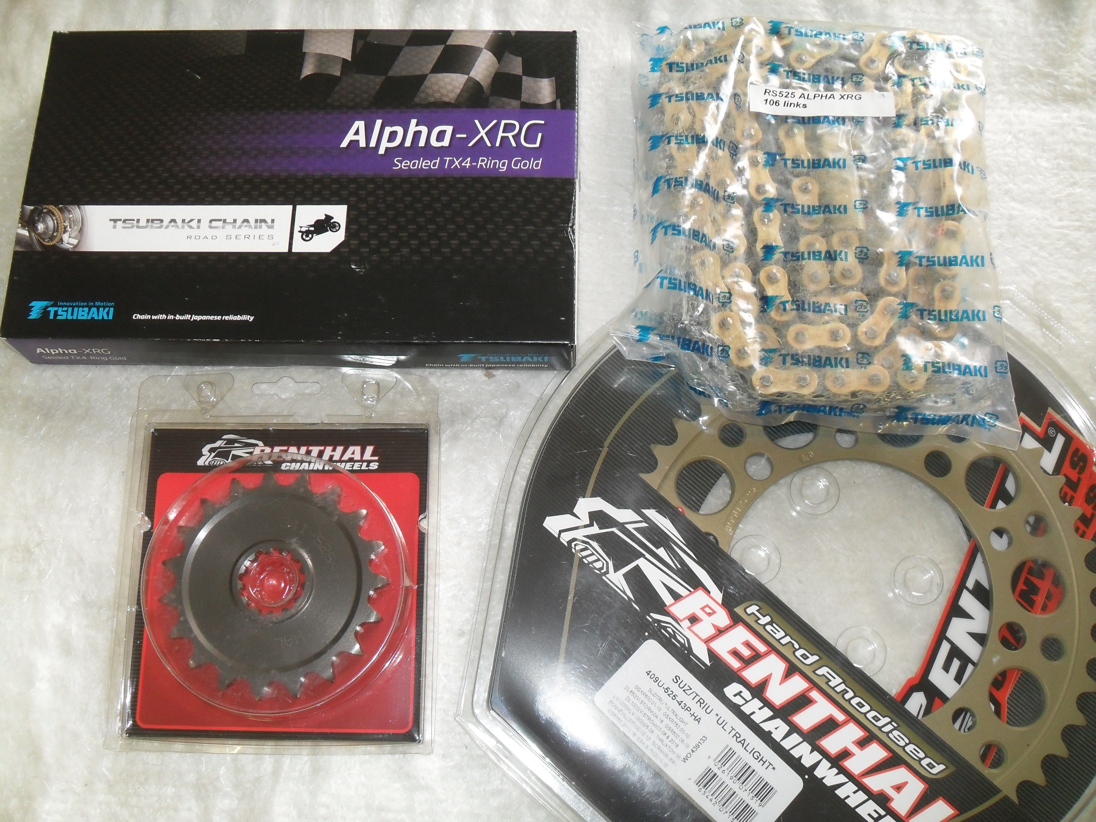 BONNEVILLE 790 AND 865 HIGH QUALITY CHAIN AND SPROCKET KIT 18T X 43T