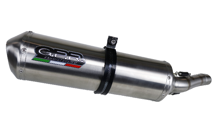 Triumph Tiger 800 Exhaust Satinox Stainless (2011-2016)