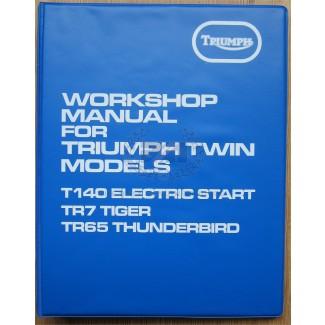 W/SHOP MANUAL T140E