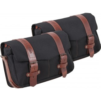 Hepco & Becker Legacy Courier Bag Set (Medium Pair) for C-Bow Carrier - Black