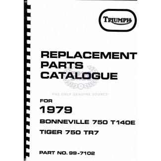 PARTS BOOK T140 1979