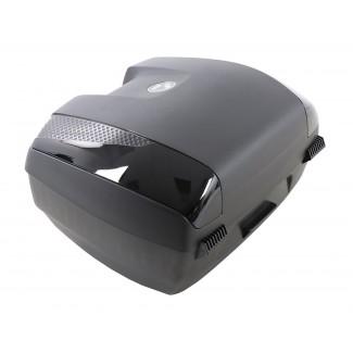 Hepco & Becker Junior Top Box 55L Flash - Gloss Black [Removeable Panels]