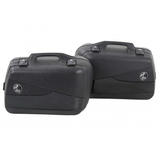 Hepco & Becker Junior Flash 40L Black Pannier Set