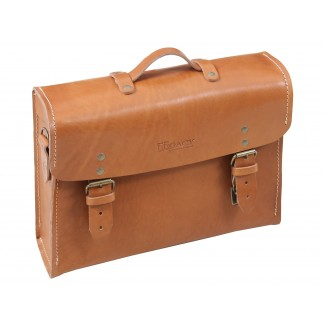 Hepco & Becker Legacy Leather Briefcase for C-Bow Carrier - Brown (Single Bag)