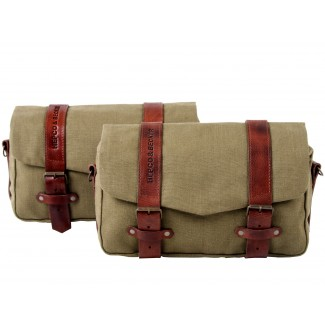 Hepco & Becker Legacy Courier Bag Set (Large Pair) for C-Bow Carrier - Green