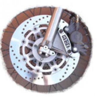 SINGLE 12IN DISC KIT WITH ALLOY CALIPER.