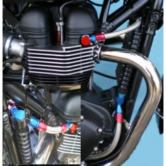 Oil Hose Set 2000-2015 T100 Bonny Thruxton and Scrambler