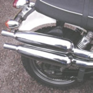 SCRAMBLER SILENCER PAIR