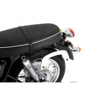 Hepco and Becker C-Bow pannier frames for T100 Bonneville and Thruxton 2000-2015