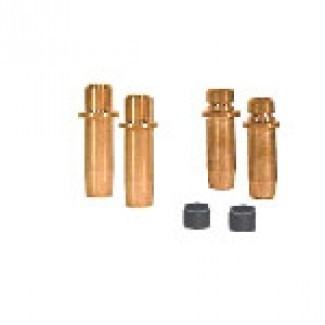HYDE TWIN VALVE GUIDES AND SEALS SET +.005