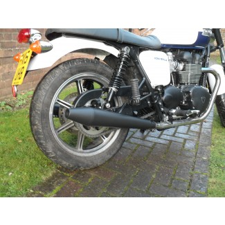 2009 on NORMAN HYDE TOGA PEASHOOTER SILENCER PAIR Black TO FIT CAST WHEEL BONNY 2009-2015
