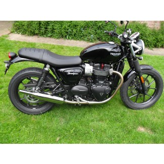 Norman Hyde  TOGA Classic silencers  for the Street Twin 900  SALE PRICE