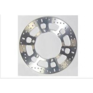 Stainless disc with precision machined alloy centre