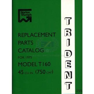 PARTS BOOK T160