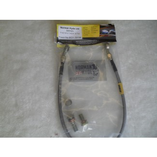 REAR BRAKE HOSE KIT - CALIPER. AT TOP T140