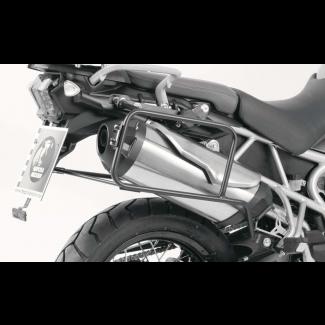 Triumph Tiger 800 / XC (2010-2014) Pannier Frames Lock-it - Black BY HEPCO & BECKER