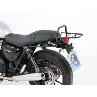 Triumph Street Twin/T100/T120 Hepco & Becker rear carrier BLACK