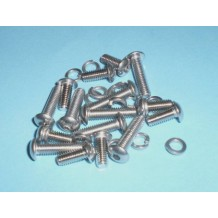 SOCKET HEAD SCREW PACK 2 CARBS